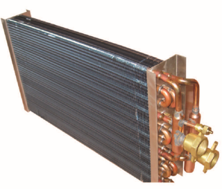 Copper Tube Condenser FOR AIR CONDITIONER With Copper Fitting