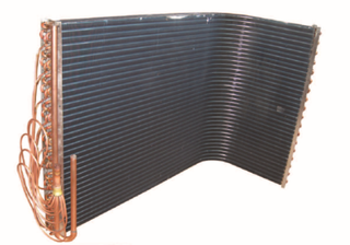 L type Copper Tube Condenser FOR AIR CONDITIONER