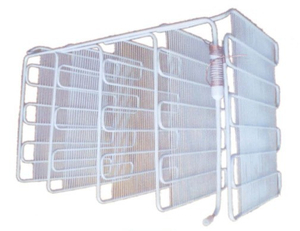 White Wire Tube Evaporator for Refrigerator
