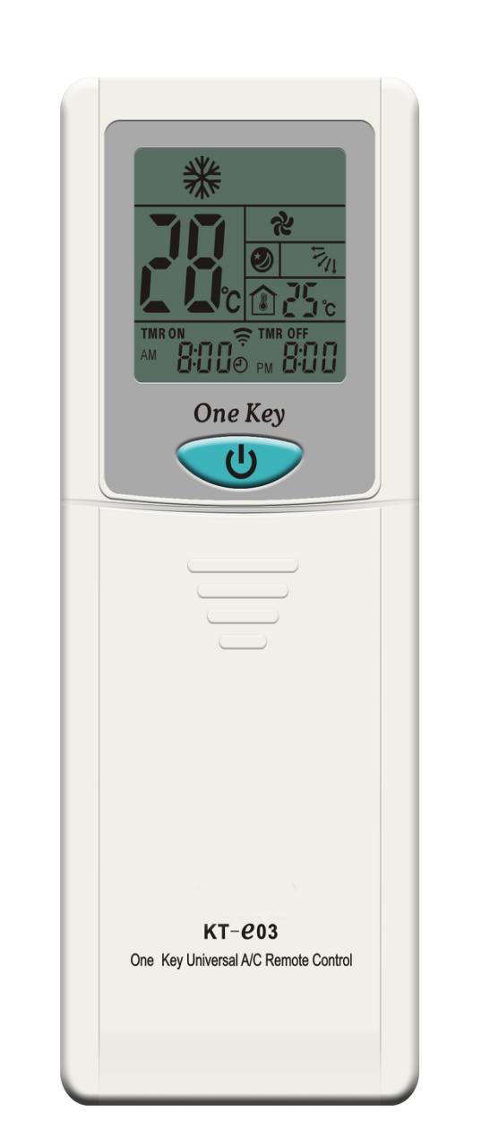 KT E03 AC Parts Universal ONE-KEY Remote Control