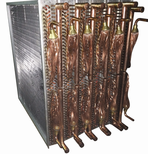 Copper Radiator Heat Exchanger For Low Temperature Cold Room