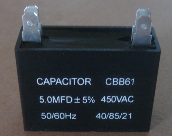 Ac dual Run Capacitor For Low Temperature Cold Room