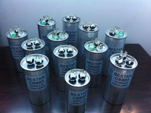 run capacitor motor with big quantity suppling