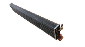 Finned Copper tube type Evaporator coil For Refrigerator Island Cabinets