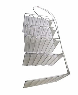 Commercial White Aluminum Wire Tube Evaporator for Refrigerator