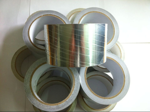 Plain aluminium foil adhesive tape for air Refrigerator