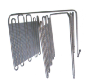 Iron White Wire Tube Evaporator for Freezer
