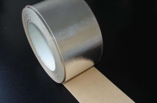 plain aluminium foil adhesive tape for external package of refrigerator