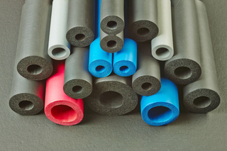 Colorful NBR Rubber Insulation tube For A/C Duct